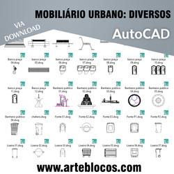 Mobiliário Urbano - Diversos