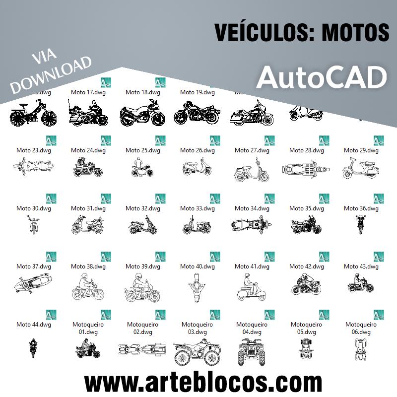 Veículos - Motos