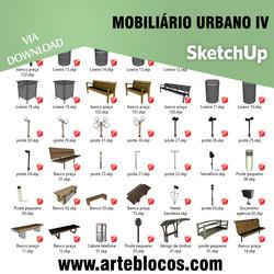 Mobiliário urbano IV