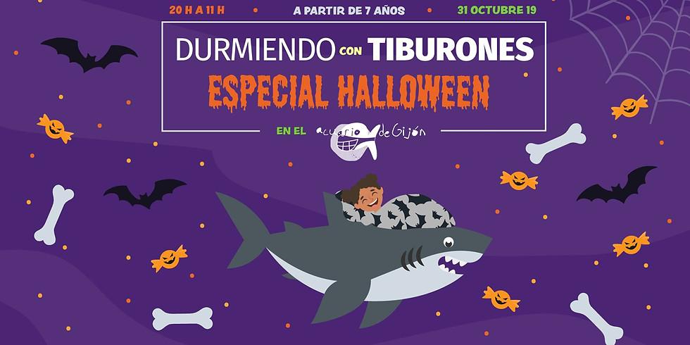 DURMIENDO CON TIBURONES - especial HALLOWEEN