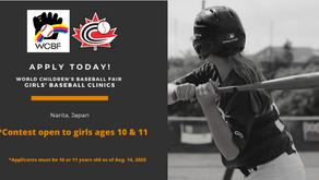 Girls' Baseball Clinics