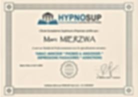 Capture Certificat Hypnosup Module Pro1