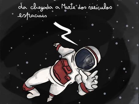 Pé Canhoto - Explorar o espaço
