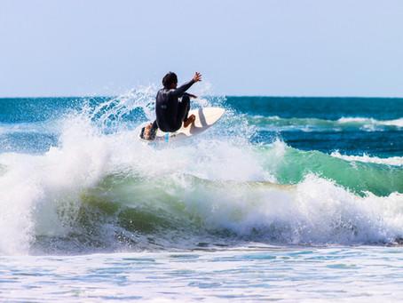 O regresso do surf do seu confinamento.