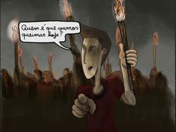 Cartoon Pé Canhoto