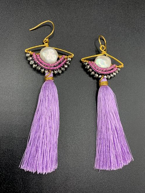 Ariel (Long, Purple)