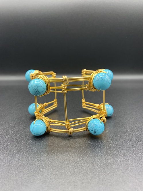 Cuffed Turquoise