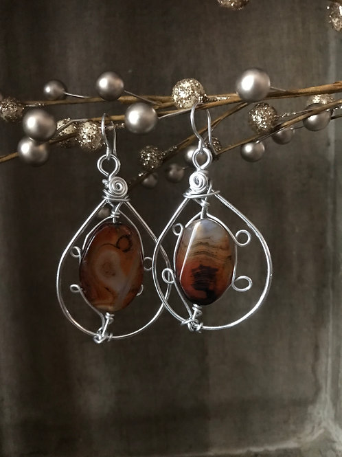 Be Bold Agate (Silver)