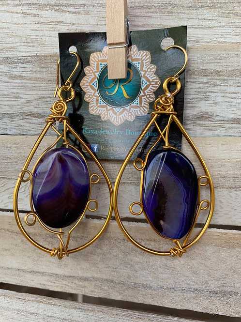 Be Bold Agate (Gold)