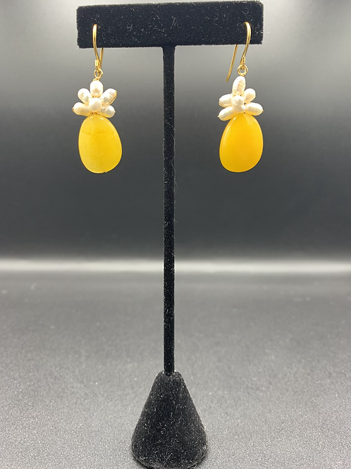 Floral Princess (Yellow Agate)