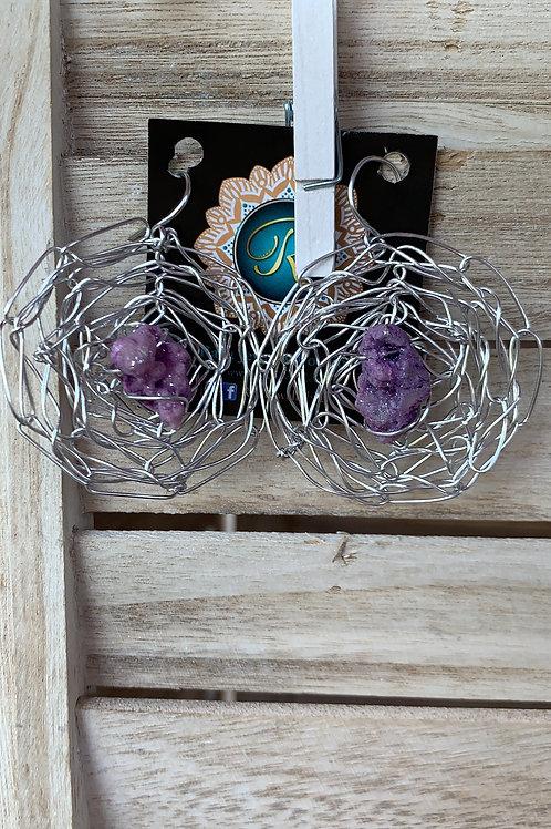 Silver Purple Sunnies