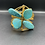 Thumbnail: Turquoise Bloom Cuff