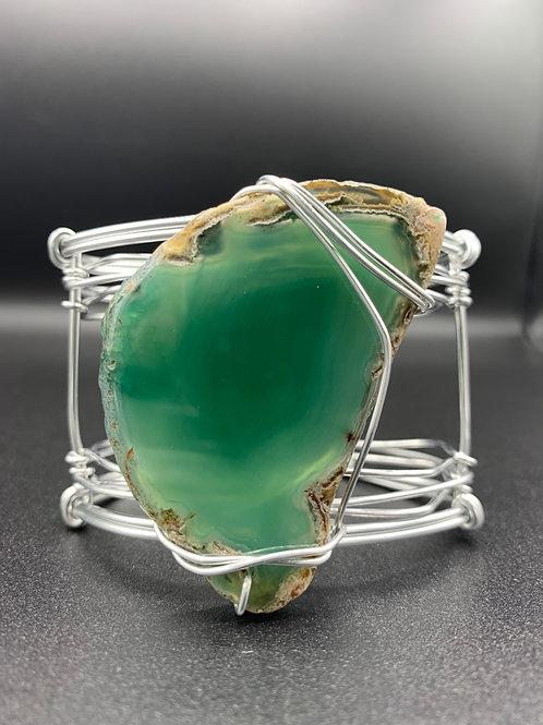 Emerald Sky Goddess Cuff