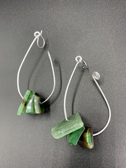 Hooked Silver (Greens)