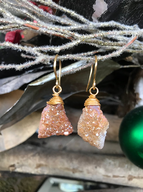 Simply Druzy (Gold)