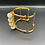 Thumbnail: Lined Cuff White Agate