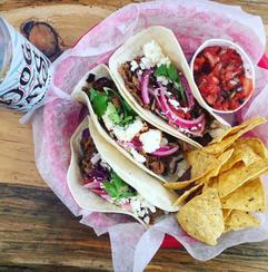 El Patio Tacos with Old Dog