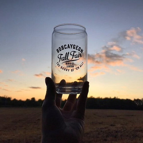 Bobcaygeon Fall Fair Glass Set