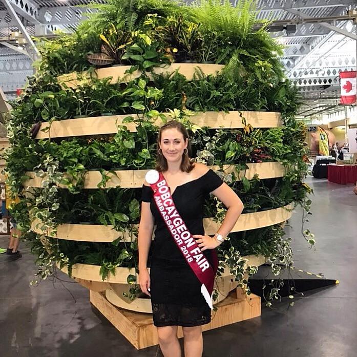 Lucia Beggs, Bobcaygeon Fair Ambassador 2018-2019