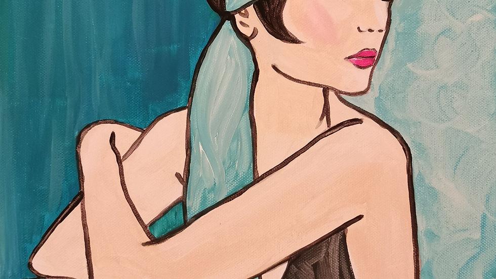 "Acrylbild ""Gatsby"" 30x40"