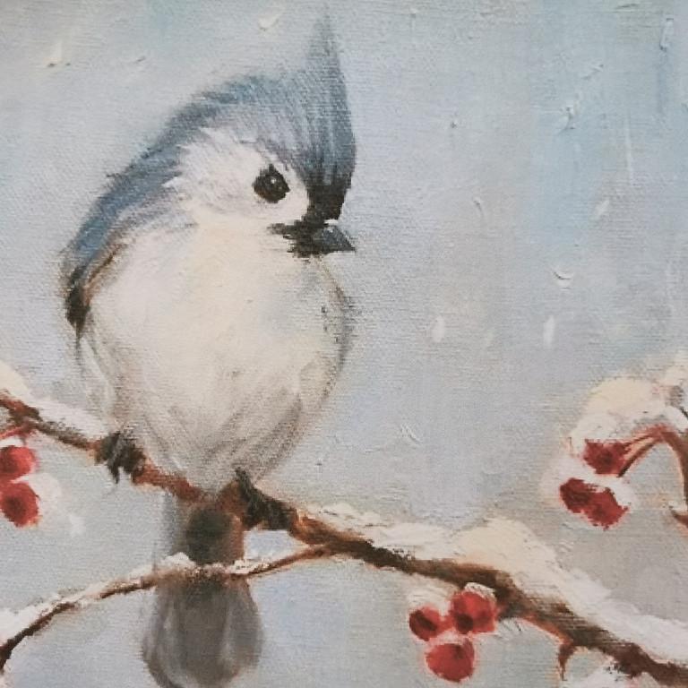 """ArtTime """"Wintervogel"""""""