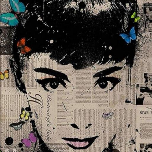 "ArtTime ""Audrey Hepburn - Acrylcollage"""