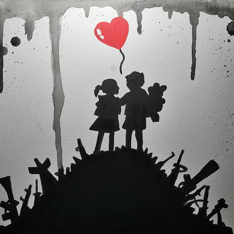 "ArtTime ""Banksy - Make Love not War"""