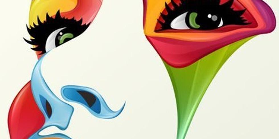 """ArtTime """"Colourful Face"""""""
