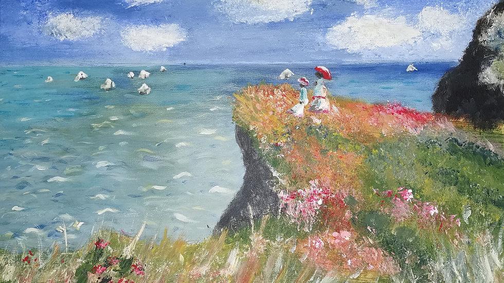 "Ölbild ""Like Monet"" 30x40"