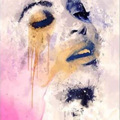 "ArtTime ""Beyoncé - Aquarelltechnik"""