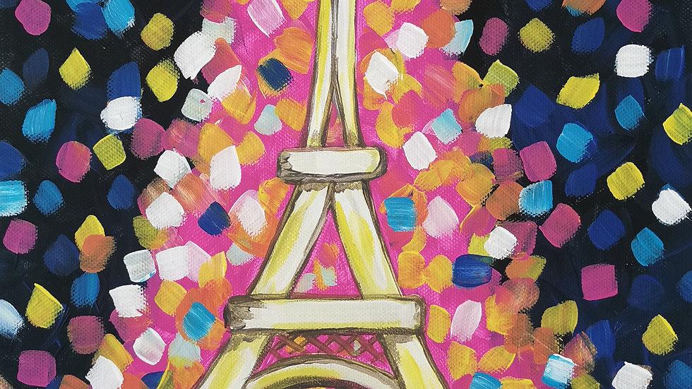 "Acrylbild ""Eiffelturm 2"" 30x40"