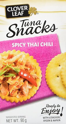 CLOVER LEAF TUNA SALAD SPICY THAI CHILI KIT 90 GR