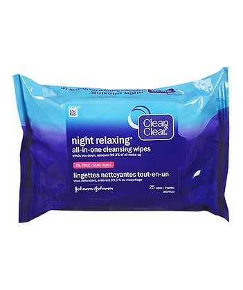 Clean & Clear All-In-One Cleansing Wipes 7ct