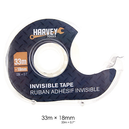 HARVEY TOOLS - INVISIBLE TAPE 33m X 18mm