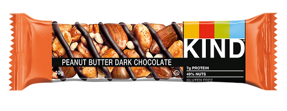 KIND BAR PEANUT BUTT DRK CHOC 12X40 GR