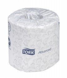 BATHROOM TISSUE 500S 2PLY 48RLX/CS ADVANCED T34
