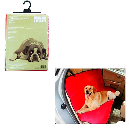 CAR SEAT COVER, RED