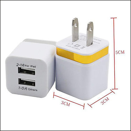 Wholesale Double USB Wall House Charger UL ETL Certified