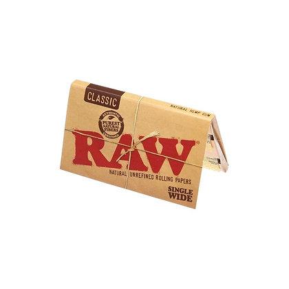RAW SINGLE WIDE CLASSIC X 25