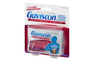 Gaviscon Extra Strength Fruit Blend Chewable Foamtabs 4ct