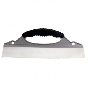 "SILICONE BLADE SQUEEGEE 13"" WIDTH GREY AND BLACK"