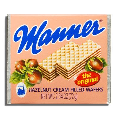 MANNER HAZELNUT CREAM FILLED WAFER 12X75 GR