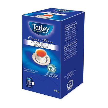 TETLEY TEA ENV DECAF ORANGE PEKOE 25 CT