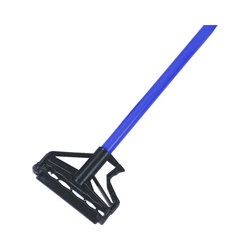 "FIBERGLASS MOP HANDLE BLUE 54"" QUICK-BITE 3119"