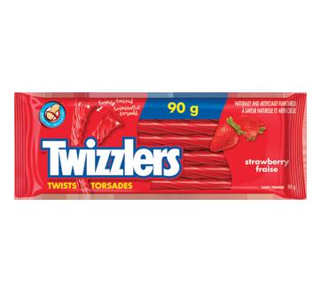 HERSHEY TWIZZLER STRAWBERRY 24X90 GR