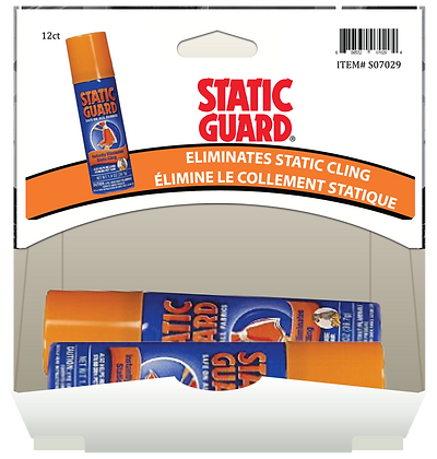 Static Guard Fresh Scent 45g, 12ct Gravity Pack