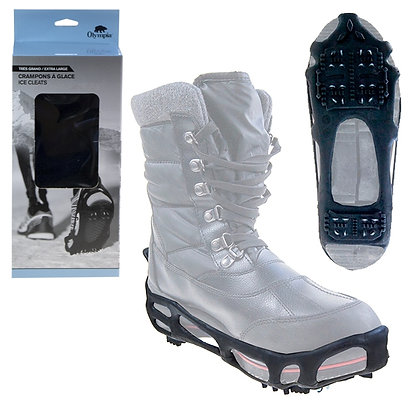 PORTABLE SNOW & ICE SHOE GRIPS XL