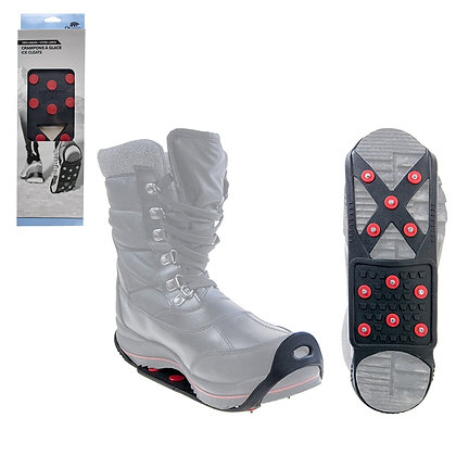 PORTABLE SNOW & ICE SHOE GRIPS