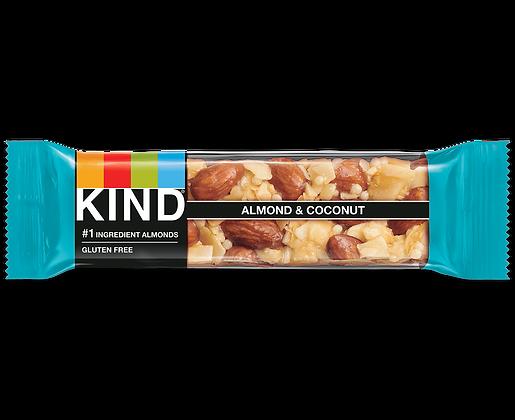 KIND BAR ALMOND COCONUT 12X40 GR