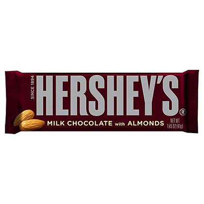 HERSHEY ALMOND 43 GR